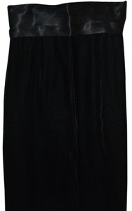 Laura Winston Victorian Satin Cummerbund Cummerbund Formal Dress Elegant Skirt Black True Velvet