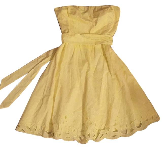 Preload https://item2.tradesy.com/images/the-limited-yellow-knee-length-short-casual-dress-size-6-s-6681286-0-1.jpg?width=400&height=650