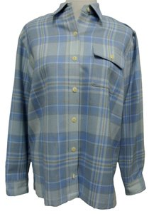 Lauren Ralph Lauren Button Down Shirt Blue