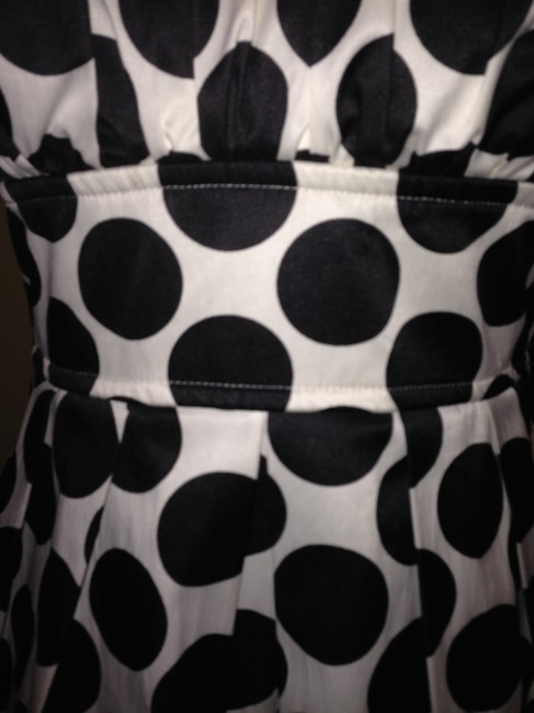 Ruby Rox Size 9 Black And White Dress