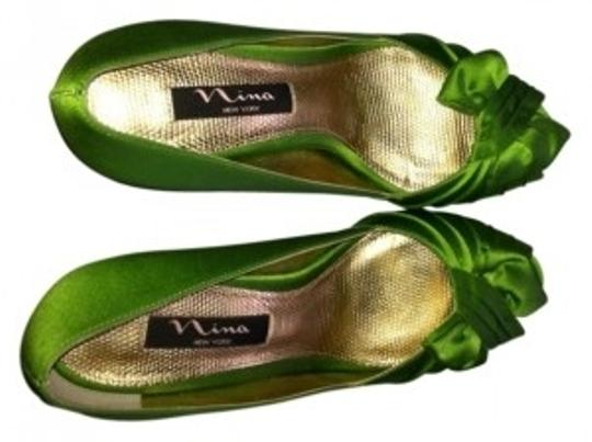 Nina Shoes Green Formal
