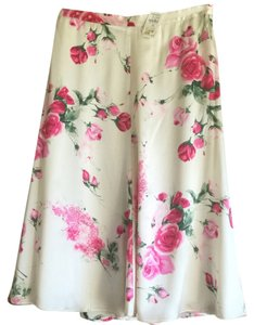 Dolce&Gabbana Skirt Taupe with floral