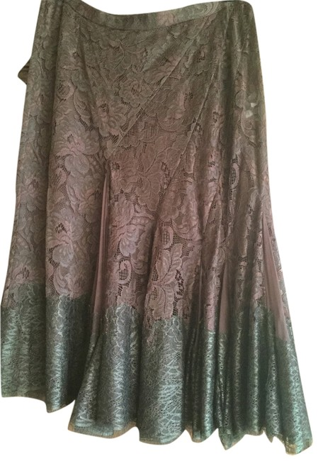 Preload https://img-static.tradesy.com/item/6689482/dolce-and-gabbana-chocolate-brown-great-holiday-lace-knee-length-skirt-size-8-m-29-30-0-1-650-650.jpg