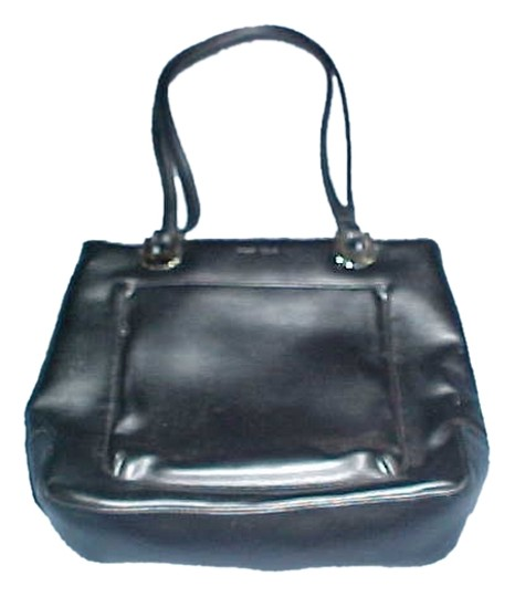 Preload https://item2.tradesy.com/images/liz-claiborne-first-issue-black-leather-tote-6689776-0-1.jpg?width=440&height=440
