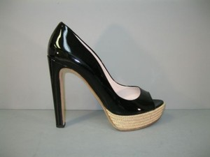 Miu Miu Patent Leather Black Pumps