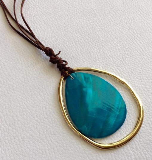Other Turquoise and Gold Necklace