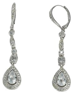 Nadri Nadri Crystal Pave Drop Earrings