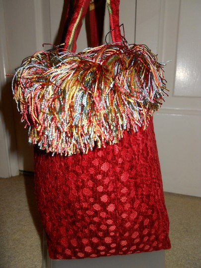 Other Handmade Tote in red