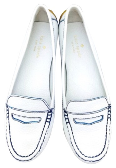 Preload https://img-static.tradesy.com/item/6695146/kate-spade-white-leather-driving-new-with-tags-flats-size-us-6-regular-m-b-0-1-540-540.jpg