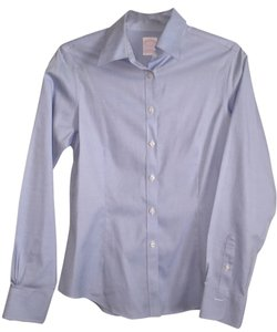 Brooks Brothers Work Wear Button Down Shirt Light Blue