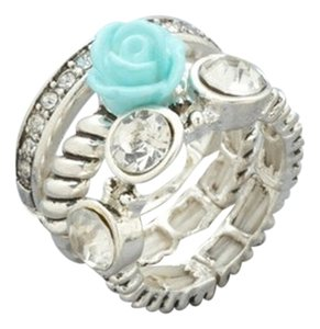 Other CHELSEY HUFFMAN Flower Ring Set 7