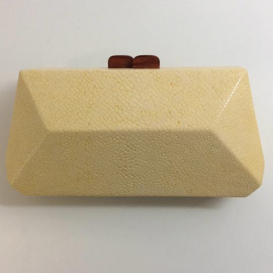 Nada Sawaya Yellow Clutch