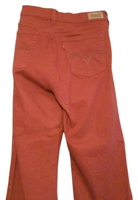 Preload https://item2.tradesy.com/images/brick-coated-straight-leg-jeans-size-36-14-l-6698956-0-1.jpg?width=400&height=650
