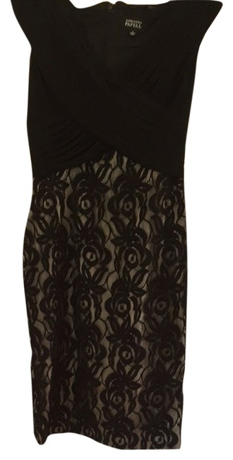 Preload https://img-static.tradesy.com/item/6706678/adrianna-papell-black-and-beige-cocktail-dress-size-6-s-0-1-650-650.jpg