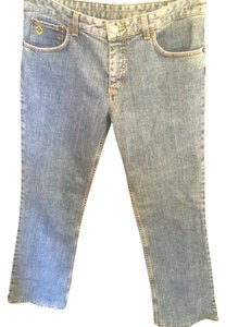 Louis Vuitton Denim Classic Style Size 4 Small Distressed Straight Leg Jeans-Distressed