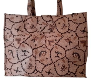 Batik Boutique Tote in Brown