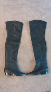 Report Signature Thigh High Trendy Black Boots