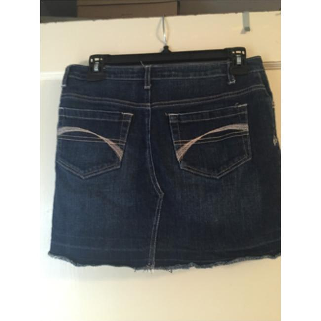 Justice Skirt Dark Denim blue