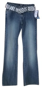 Angels Jeans Boot Cut Jeans-Medium Wash