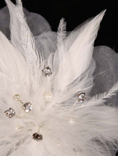 White Your Dream Dress Sfl303 Flower Headpiece Hair Accessory