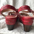 Frye Leather Leather red Wedges Image 7