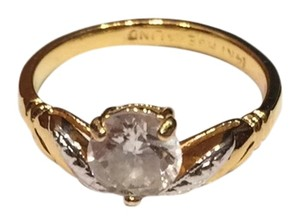 Lind LIND Gold Plated CZ Ring