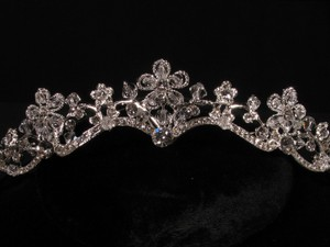 Your Dream Dress Exclusive S4203cr Silver Tiara Bridal Headpiece