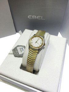 Ebel Ebel Wave Ladies Watch 1087121 , Stainless Steel & 18 Karat Yellow Gold