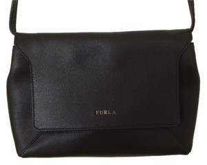 Furla Leather Crossbody Adjustable Strap Shoulder Bag