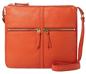 Fossil 12 W X 11 H X 1 1/2 D Inches Cross Body Bag