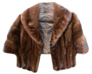 Fur Shawl Cape