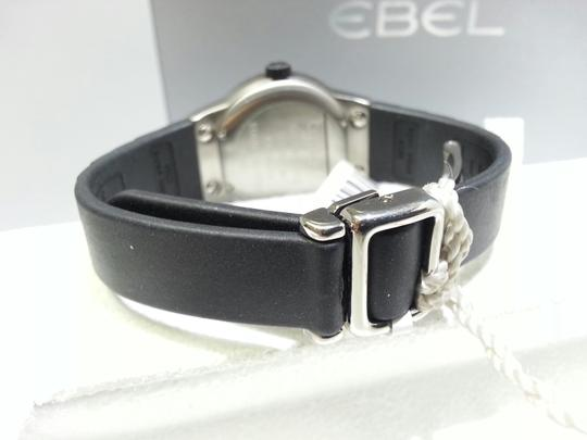 Ebel EBEL E-Type Ladies Watch, 9200C21, Stainless Steel & Black Robber Strap