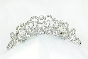Regina B 175 Silver Hair Comb Bridal Headpiece