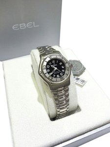 Ebel Women's Discovery Automatic Black Dial Stainless Steel Watch 9172321