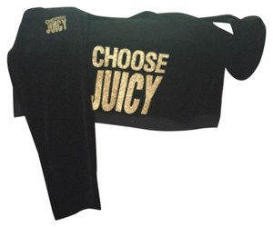 Juicy Couture Hoodie And Pants - Velour Tracksuit - 2 Piece Set