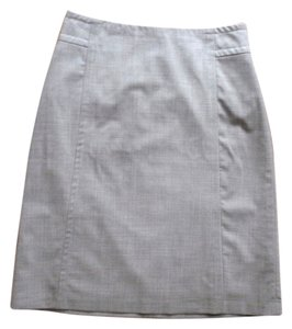Banana Republic Pencil Office Skirt grey