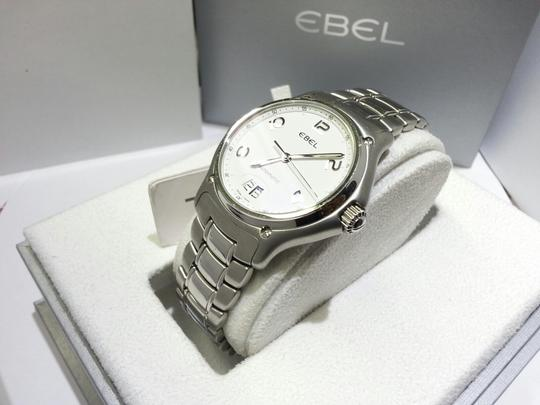 Ebel Ebel 1911 Automatic Stainless Steel Mens Watch White Dial Calendar 9125241