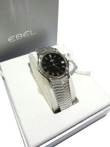Ebel Ebel Sport Classic Stainless Steel Mens Watch Black Dial Calendar 9187142