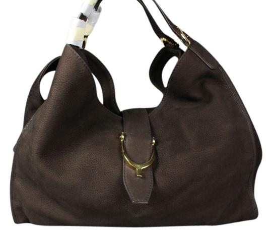 Preload https://item5.tradesy.com/images/gucci-stirrup-large-hobo-brown-suede-leather-tote-6719419-0-1.jpg?width=440&height=440