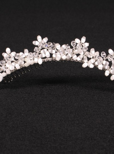 Preload https://img-static.tradesy.com/item/6719593/silver-with-glass-beads-and-crystals-your-dream-dress-exclusive-r3-4744-headpiece-tiara-0-0-540-540.jpg