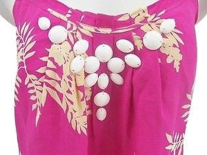 Shoshanna Pink Gold Top Multi-Color