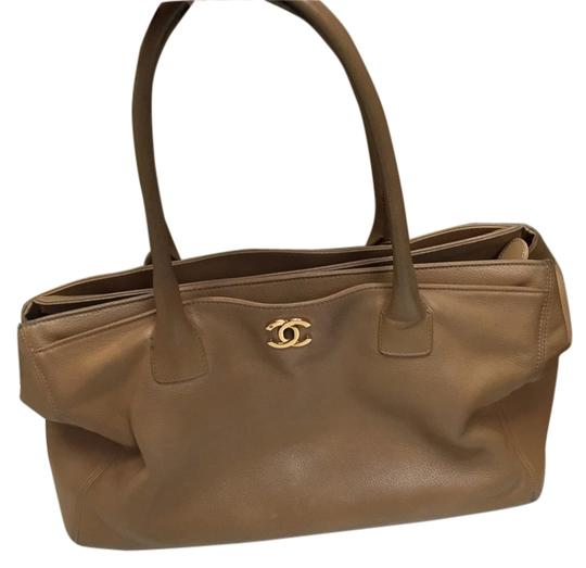 Preload https://item1.tradesy.com/images/chanel-executive-beige-calfskin-cerf-leather-tote-6720070-0-1.jpg?width=440&height=440