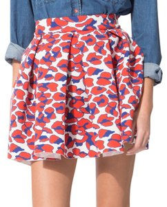 Maje Mini Skirt Leopard print