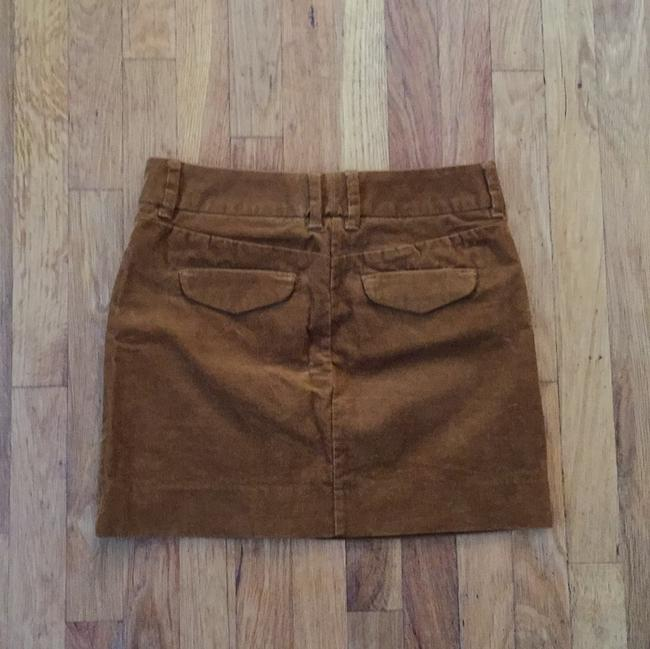 J.Crew Corduroy Mini Casual Summer Spring Mini Skirt Mustard