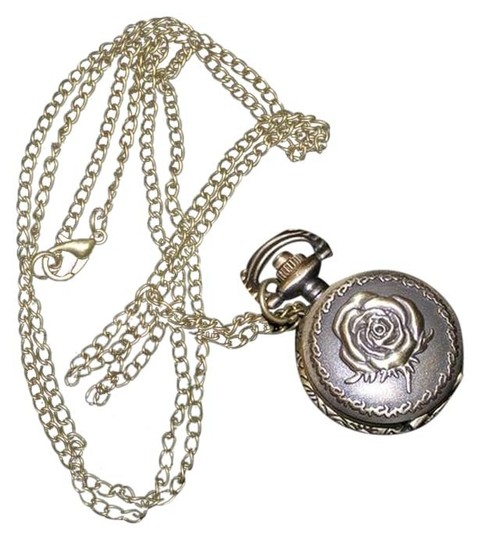 Preload https://item1.tradesy.com/images/bronze-bogo-rose-pocket-inspired-sweater-necklace-free-shipping-watch-6721615-0-1.jpg?width=440&height=440
