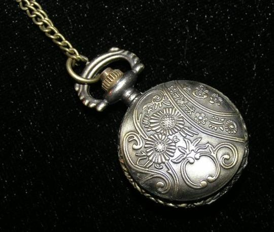 Other BOGO Bronze Rose Pocket Watch Inspired Sweater Necklace Free Shipping