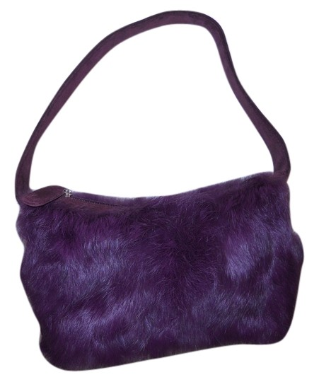 Preload https://img-static.tradesy.com/item/6721996/maxima-wilsons-leather-small-purple-and-burgundy-rabbit-fur-with-suede-trim-shoulder-bag-0-1-540-540.jpg