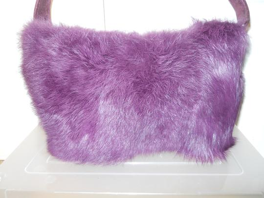 Maxima Suede Fur Shoulder Bag