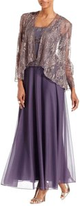 Patra New Sleeveless Glitter Lace Gown and Jacket With Tags Dress