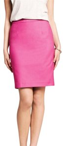 Banana Republic Pencil Brand Name Skirt Pink